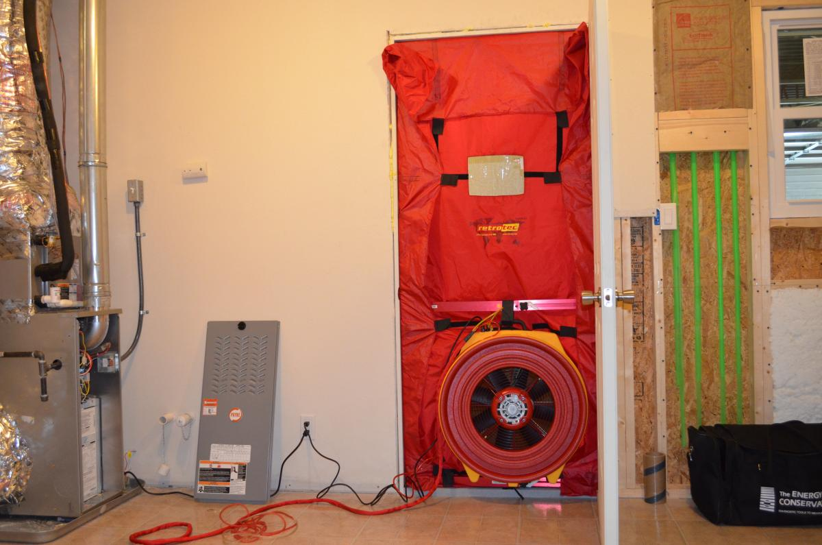 bpi blower door test certification accepted by fl code officials. Black Bedroom Furniture Sets. Home Design Ideas