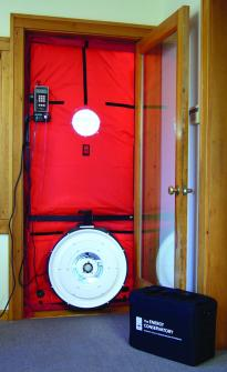 Energy Auditing Equipment - Blower Door