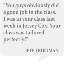jeff friedman loved everblue Jersey city training