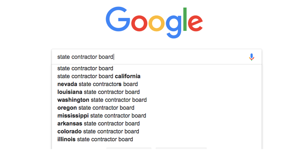 Google state contractor board image