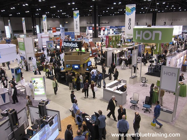 Greenbuild exhibition floor image