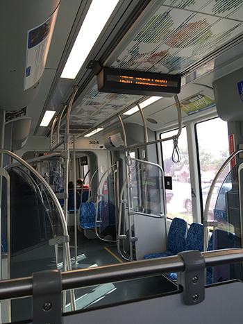 inside light rail