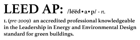 LEED AP definition image