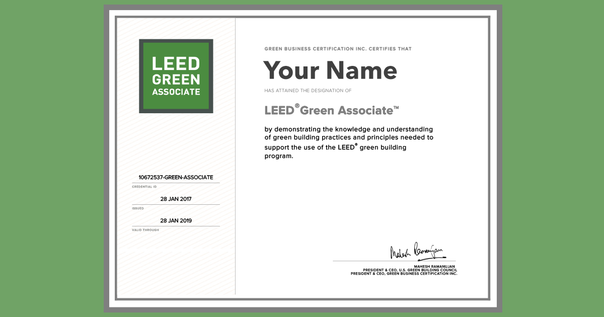 How Employers Verify Your Leed Accreditation Everblue Training