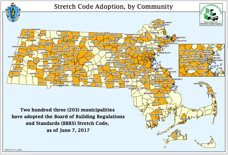 Massachusetts stretch code adoption image
