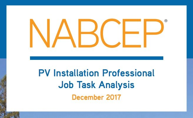 nabcep solar pv exam to cover 2017 nec code | everblue training