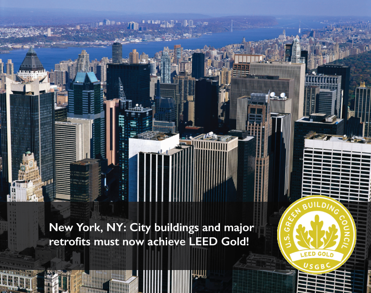 New Nyc Laws Require Leed Gold