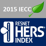 The 2015 building code may use the RESNET HERS Score