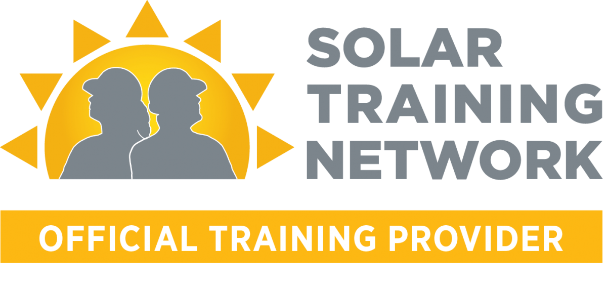 Solar Training Network Official Training Provider logo
