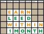 Earn Your LEED Credential Within 1 Month