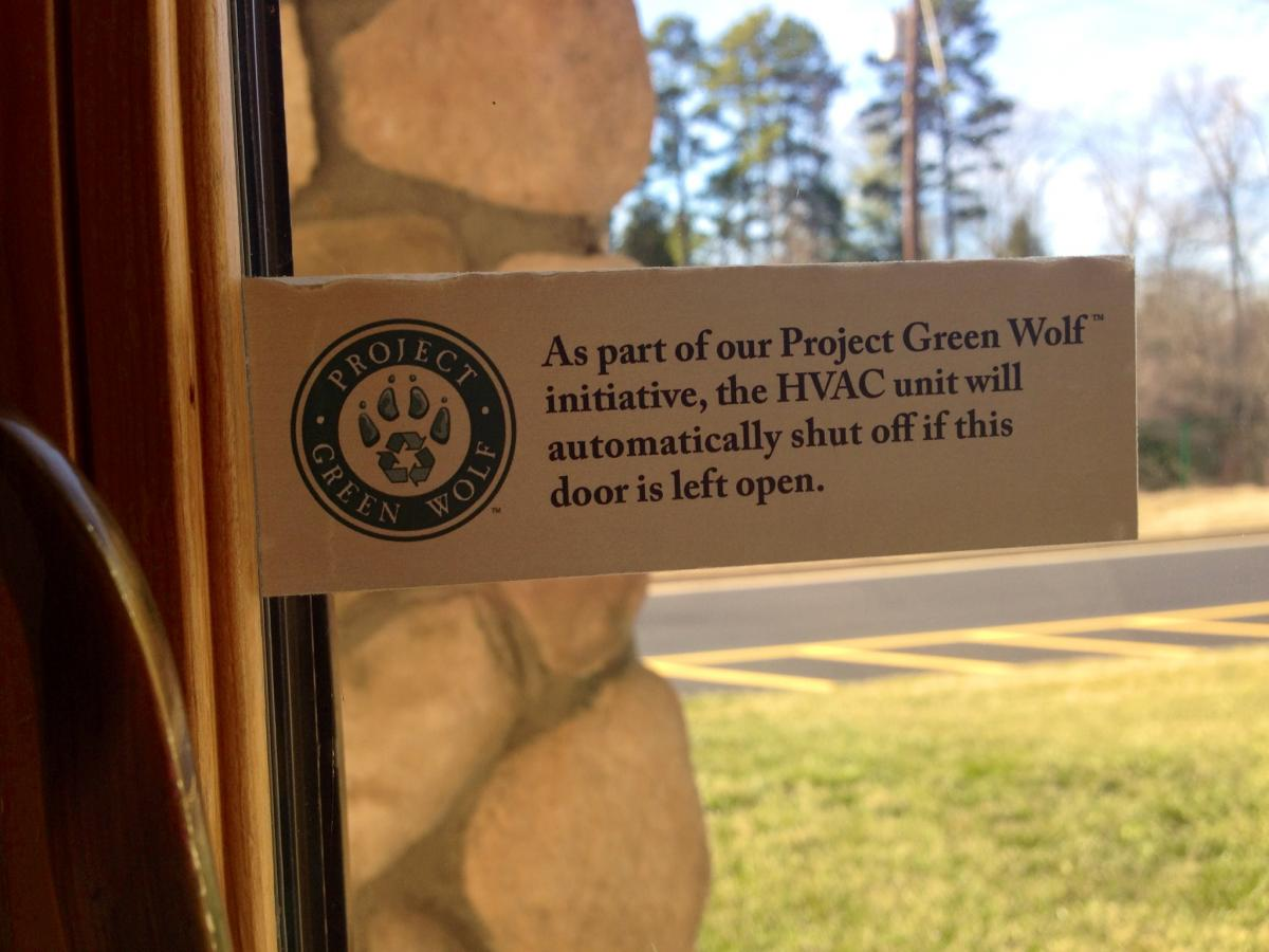 project green wolf notice
