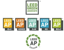 leed green associate, leed ap & specializations accreditation