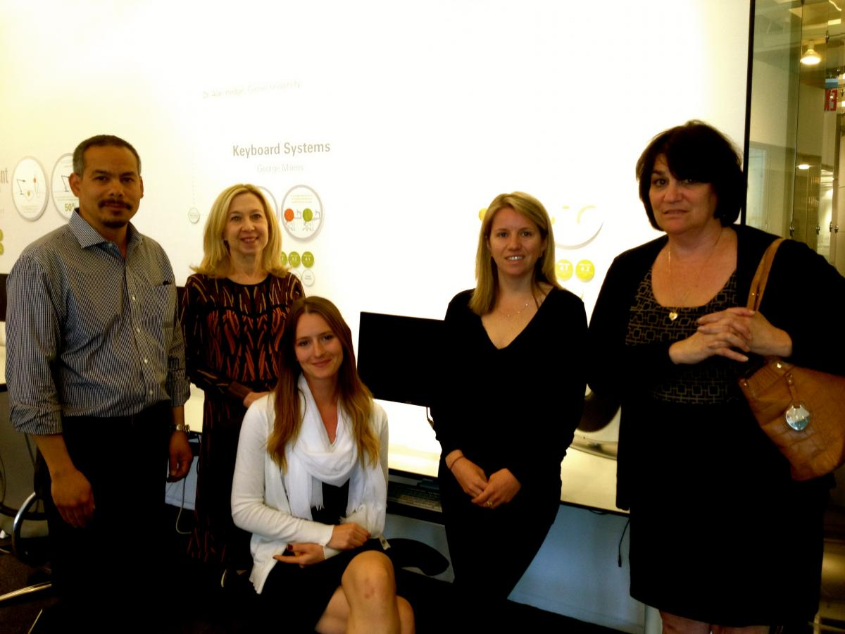 Attendees from humanscale to NYC training center